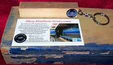 * SHEA STADIUM DUGOUT SEAT RING SEAVER WRIGHT PIAZZA METS 1969 1986 2015 BEATLES