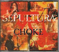 SEPULTURA choke CD single RR 2219-3 w/1 demo Cavalera