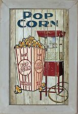 Home Theater Movie Cinema Snack Bar Home Decor Rec Room Popcorn Machine Sign