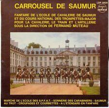 45 T EP CARROUSSEL DE SAUMUR **FANFARE DE L'ECOLE DE CAVALERIE* TRAIN ARTILLERIE