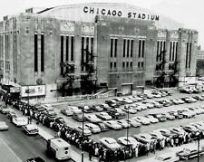 Bulls & Blackhawks CHICAGO STADIUM Glossy 8x10 Photo Print Arena Poster