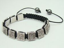 Shamballa bracelet all 10mm  Zinc Alloy  beads with hematite rhinestone