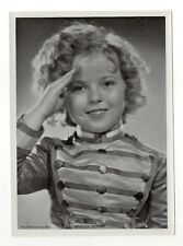 Shirley Temple 1937 Union Dresden Film Star Series 2 5X7 Cigarette Photo Card