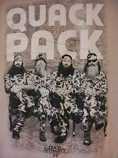 DUCK DYNASTY~QUACK PACK  T-Shirt~L VGUC
