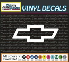 Chevrolet Chevy Bowtie auto Car Truck window wall vinyl sticker decal 8""