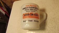 Fire King Golden Sun Feeds Howells Nebraska Mug  No. 2