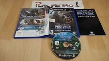 PLAY STATION 2 PS2 PETER JACKSON'S KING KONG COMPLETO PAL ESPAÑA