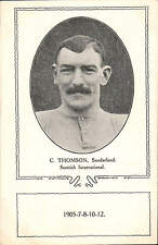 Football. Sunderland & Scotland. C. Thomson.