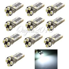 10x AMPOULE 194 501 168 T10 W5W Veilleuse 8 SMD LED ODB CANBUS ANTI ERREUR WEDGE