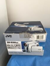 JVC DIGITAL VIDEO CAMERA GR-D350AA,D350;WARRANTY