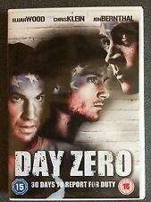 Elijah Wood, Chris Klein DAY ZERO ~ 2007 Independiente Americano Drama GB DVD