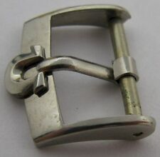 """Swiss Omega buckle in stainless steel 16 millimeters """"shoe horse"""""""