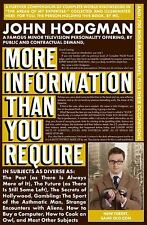 More Information Than You Require, Hodgman, John, New Book