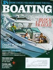 2015 Boating Magazine: Block Up Your Trailer/Chart Plotters Compared/Bluetooth