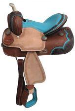 """13"""" Double T Pony/Youth barrel style saddle"""