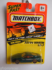 MATCHBOX SUPERFAST #59 ASTON MARTIN DB-7 1993 ISSUE