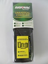 Rayovac PS202 Battery Charger for AA AAA C D and 9V NICD and NIMH Batteries