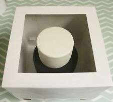 "5 x 10""Tall Cake Boxes- Tiered stacked cakes Giant Cupcakes with Clear Window"