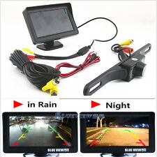 "Infrared Night Vision Reversing Camera 4.3"" TFT Sun Shade Screen Monitor Display"