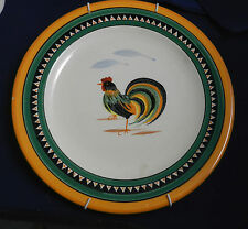 Henriot  Quimper Plate with Rooster