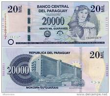 Paraguay - 20,000 Guarani - UNC Currency Note - 2013 issue