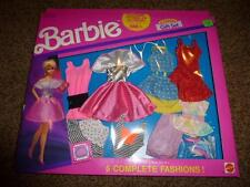 Vintage Barbie 6 Fashion Gift Set Pack Dress 767 NRFB 1991 Shoe Outfit 16 Piece