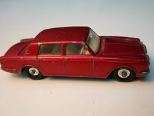 ROLLS-ROYCE SILVER SHADOW RED ROT MATCHBOX SERIES No.24c ENGLAND VON 1965-1970
