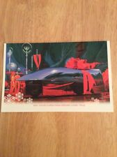 "SIGNED - Syd Mead Hyper an On Christmas Morn Card 2003 + Pic ""Blade Runner"""