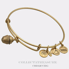 Authentic Alex and Ani Cupcake Russian Gold Charm Bangle CBD