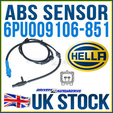 HELLA ABS WHEEL SPEED SENSOR PEUGEOT 1007 (KM_) 1.6 16V 04.05-