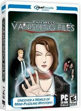Cate West THE VANISHING FILES PC Game Hidden Object NEW