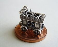 BEAUTIFUL  '  GYPSY CARAVAN ' STERLING SILVER OPENING CHARM CHARMS