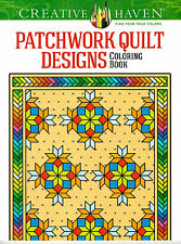 Creative Haven Patchwork Quilt Designs Coloring Book by Carol Schmidt (2014, PB)