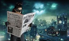 1/6 Scale Newspaper - Gotham Times for Batman, Robin, Catwoman and friends
