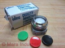 Idec ABD111N Push Button Red Green Black 10A 600V 25mm