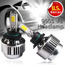 80W 8000LM 9005/HB3/9145/9140/H10 6000K HID White High Beam LED Headlights KIT