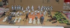 Star Wars Loose Lot 43 Clone Trooper StormTrooper Action Figures 100% +Extras