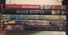 Inuyasha,Samurai Deeper KYO,Soul Hunter,Black Heaven Fantasy Anime DVD Lot