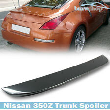 Painted For Nissan Fairlady 350Z Z33 2D Coupe OE-Look Rear Trunk Spoiler 08 #WV2