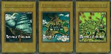 "Yu-Gi-Oh ! Lot des 3 cartes ""Le Royaume des Duellistes"" YGLD/VF - COLLECTION !"