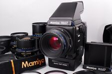 【NEAR MINT】Mamiya RZ67 Pro Body w/50,65,110,250mm,AE Finder From Japan #61