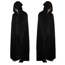 Cosplay Halloween Costume Cape wizard Grim Reaper Cloak Manteau pluvial Party