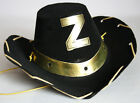 AMAZING RARE VINTAGE 80'S ZORRO HAT HALLOWEEN CARNIVAL GREECE GREEK NEW NOS !