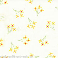 MODA Fabric ~ CELEBRATION ~ by Bunny Hill (2862 12) Girl/White - by 1/2 yard