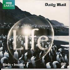 DAVID ATTENBOROUGH BBC EARTH  BIRDS - INSECTS DVD