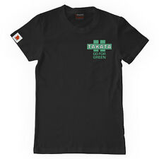 *OFFICIAL* TAKATA 'GO FOR GREEN ' BLACK T-SHIRT - LARGE L  * UK STOCK *