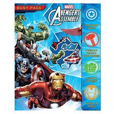 Kinder Activity BESCHÄFTIGT PACKUNG Marvel Avengers Weihnachtsstrumpf Füller