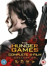The Hunger Games 1-4 Movie Film Collection New & Sealed Region 2 DVD Boxset