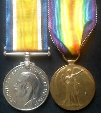 WW1 PAIR OF MEDALS DVR ORTON SOUTH AFRICAN FIELD ARTILLERY