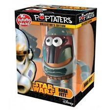 DISNEY STAR WARS BOBA FETT MR POTATO HEAD POP TATERS BRAND NEW